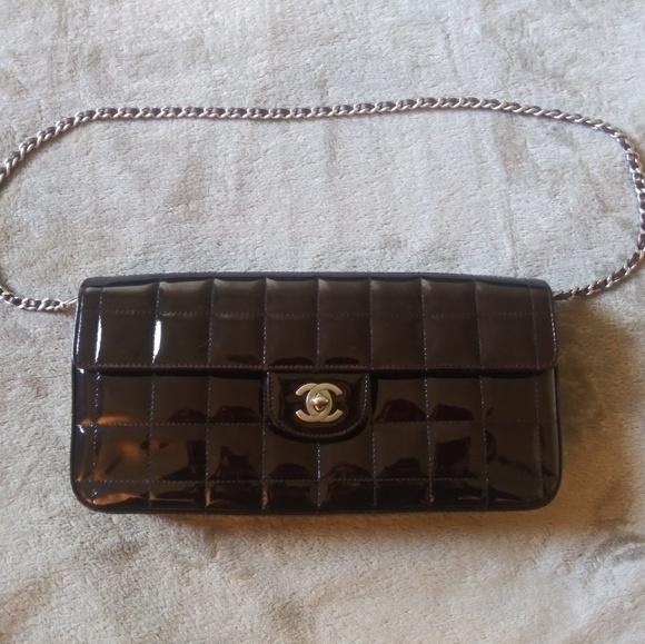 6c55f68dd1ee CHANEL Bags | East West Chocolate Bar Flap Bag | Poshmark